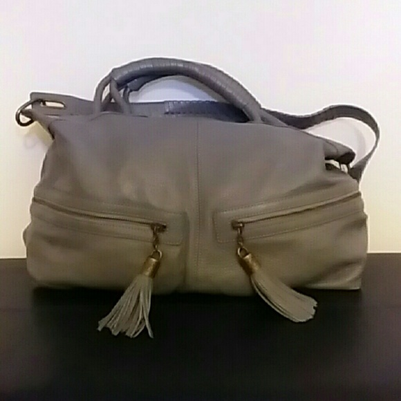 b0834ab9bd79 Rachel Zoe large gray hobo bag. M 5a45cefcdaa8f63818101a1a